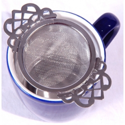 Empress Tea Room Tea Strainer