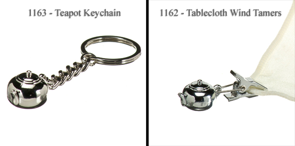 Key Chain or Tablecloth Tamer
