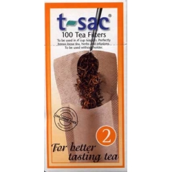 #2 t-sac Loose Tea Filters